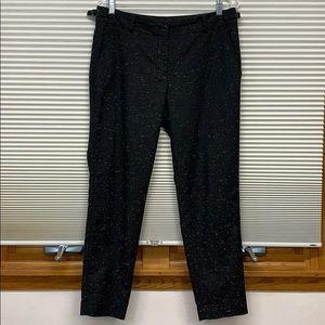 Ann Taylor black & white dress pants